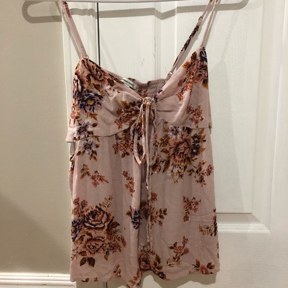 American eagle summer side cut out tank